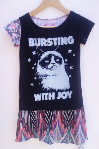 Cat Dress size 8-9