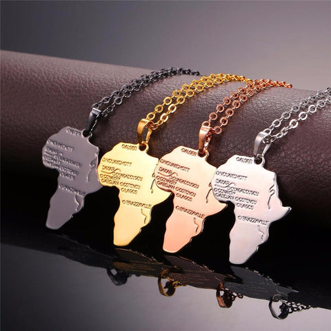 African Hip Hop Necklace