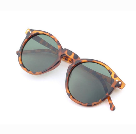 Mirror Lens Trendy Sunglasses
