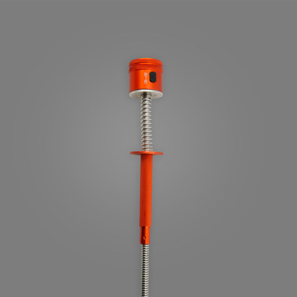 "16MLT Magnetic Pick-Up Tool, Flexible Spring Claw, LED Lighted, 25-1/4"" Long"