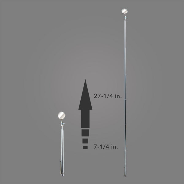 "A-2TM - Round 7/8"" Telescoping Inspection Mirror and Magnetic Pick-Up Tool"