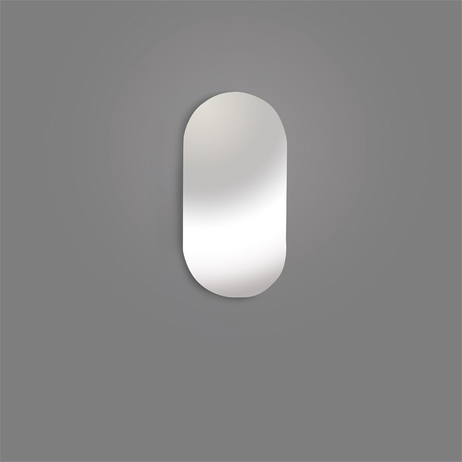 "B-2R - Oval 1"" x 2"" Inspection Mirror, Refill Mirror Only"