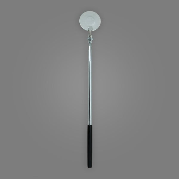 "C-2ML - Round 2-1/4"" Extra Long Telescoping Magnifying Inspection Mirror"