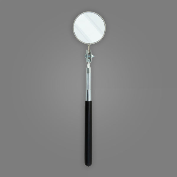 "C-2M - Round 2-1/4"" Telescoping Magnifying Inspection Mirror"