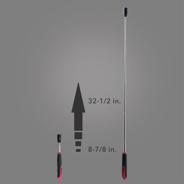 HTLP-2 - Telescoping Magnetic Pick-Up Tool with POWERCAP® and LED Light