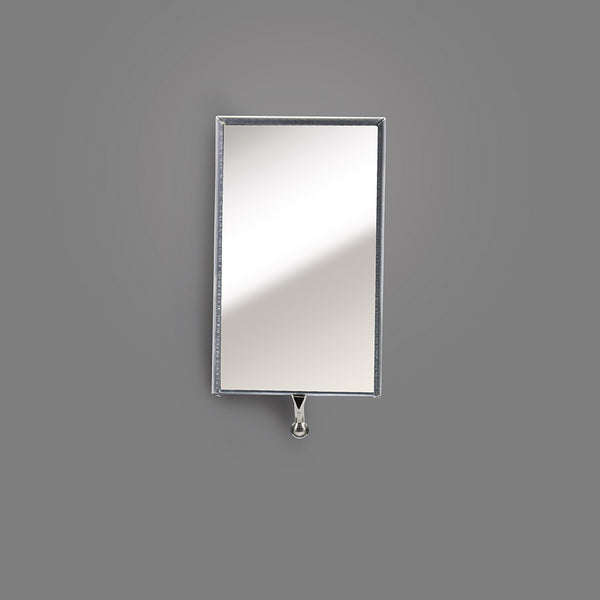 "K-2HD - Rectangular 2-1/8"" X 3-1/2"" Inspection Mirror, Head Assembly"