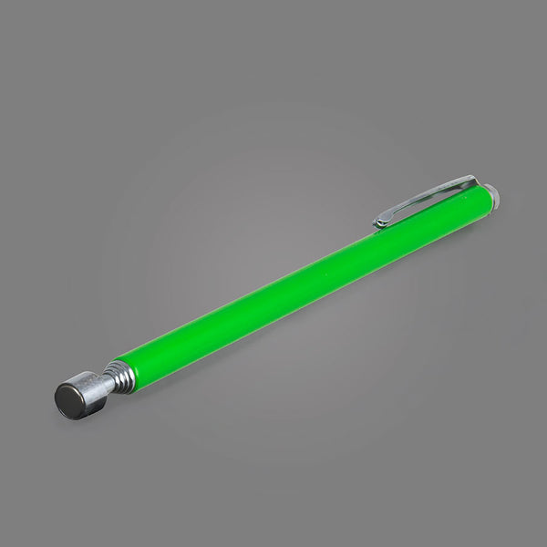 NO.15XGR - Hi-Vis Green Pocket Size Telescoping Magnetic Pick-Up Tool