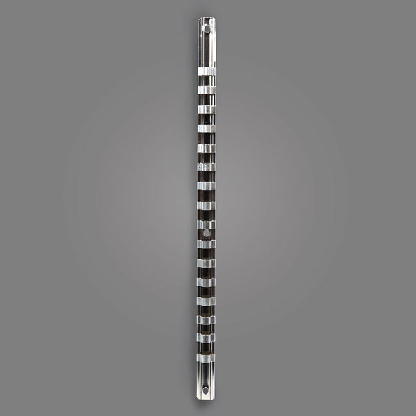 "NO.35 - Drive Socket Holder Rack With 3/8"" Clips"