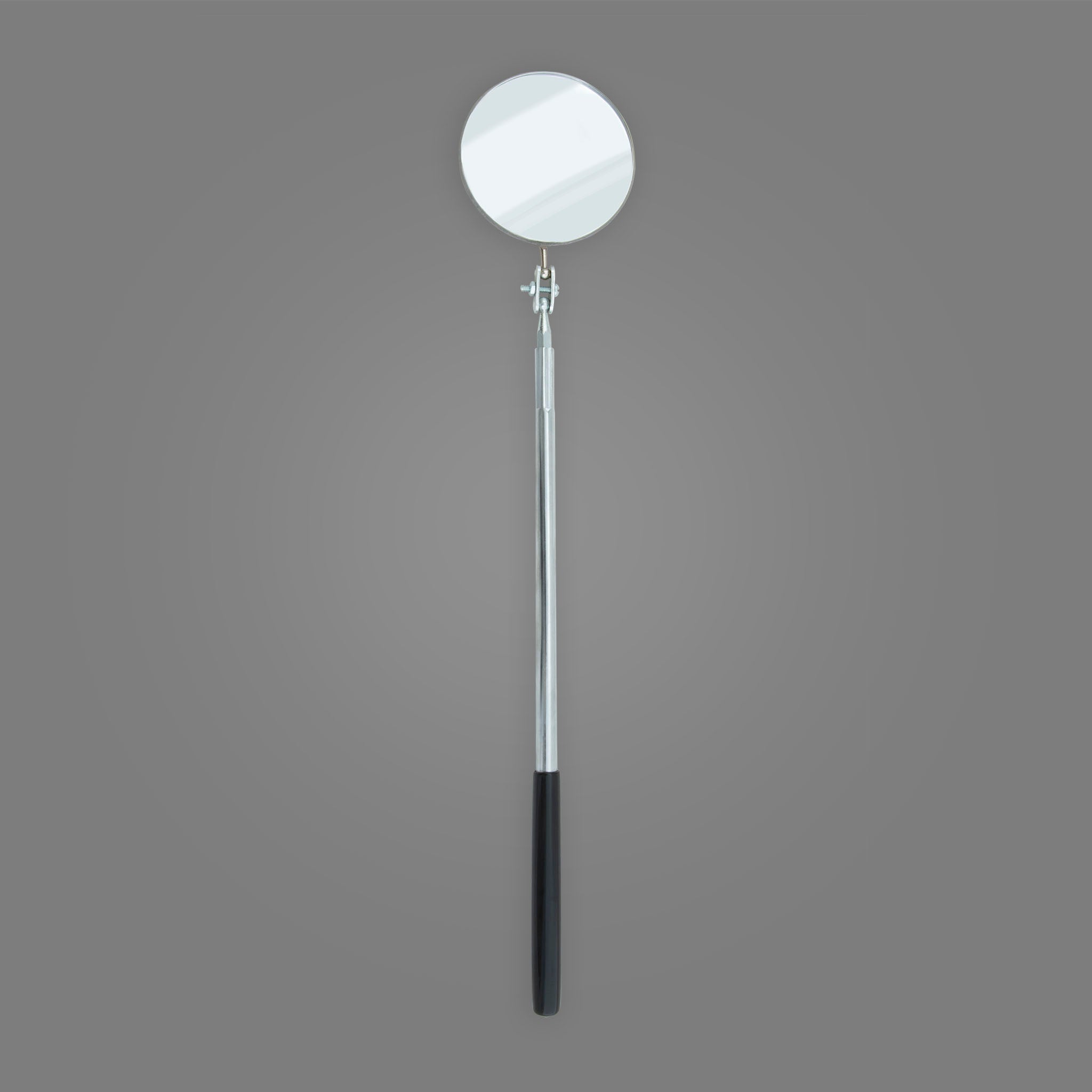 "S-2L - Extra Long Round 3-1/4"" Telescoping Inspection Mirror"