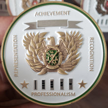 "Limited Edition Regimental WO Coin ""MP"""