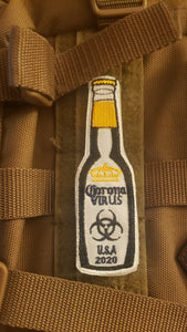 Corona Bottle Velcro patch