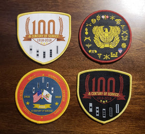 100th Anniversary/All Star Regimental/ 100th Commemorative Patch SALE!!