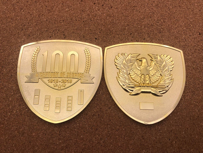Chief's 100th Anniversary Coin (Old Gold)