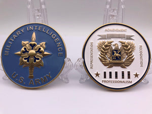 "Limited Edition Regimental WO Coin ""MI"""