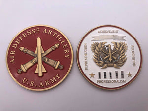 "Limited Edition Regimental WO Coin ""ADA"""
