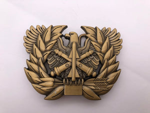 ADA Branch Insignia Belt Buckle