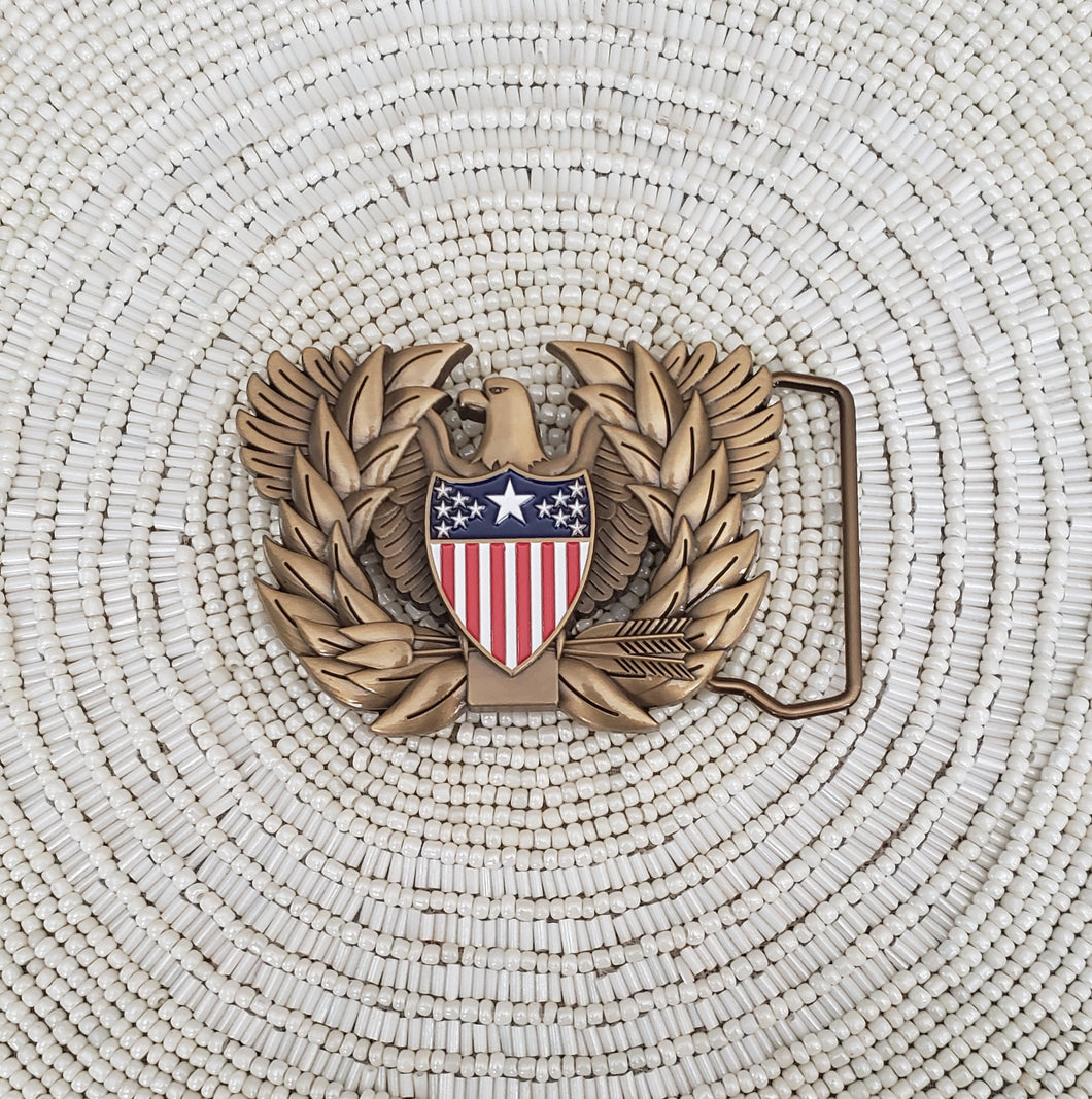 AG Branch Insignia Belt Buckle