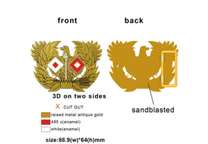Signal Branch Insignia Belt Buckle