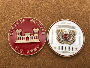 "Limited Edition Regimental WO Coin ""ENG"""