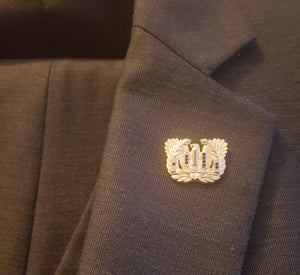 """All Ranks"" Lapel Pin"