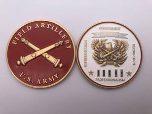 "Limited Edition Regimental WO Coin ""FA"""