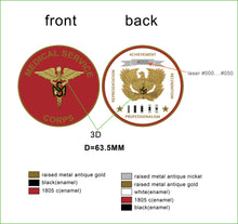 "Limited Edition Regimental WO Coin ""MED"""