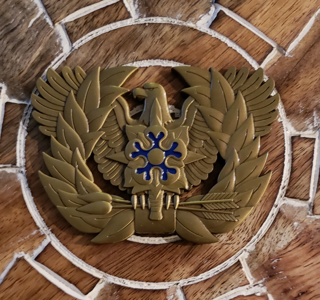 Military Intelligence Branch Eagle Rising Coin
