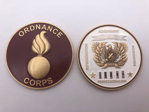 "Limited Edition Regimental WO Coin ""ORD"""