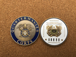 "Limited Edition Regimental WO Coin ""QM"""