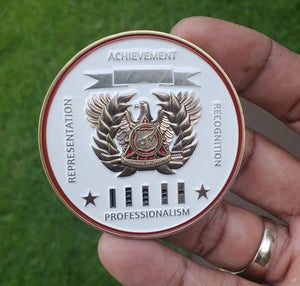 "Limited Edition Regimental WO Coin ""TC"""