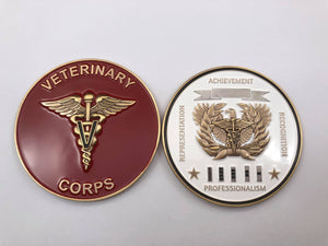"Limited Edition Regimental WO Coin ""VET"""