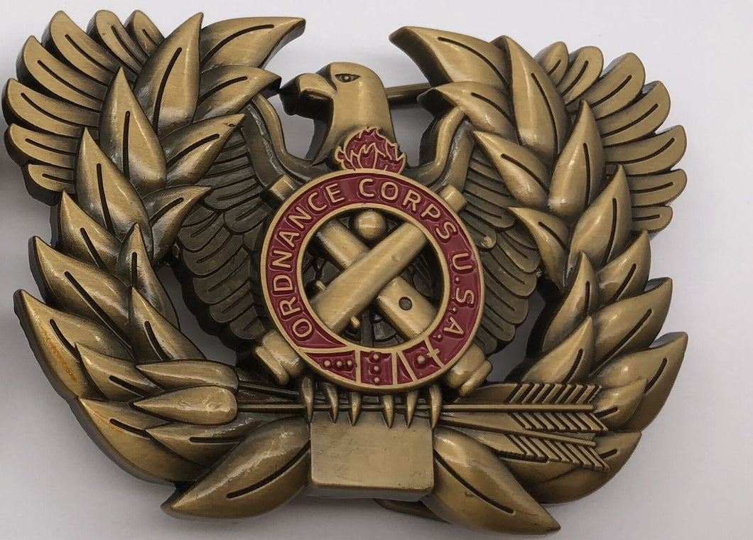ORD Branch Insignia Belt Buckle