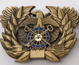 QM Branch Insignia Belt Buckle