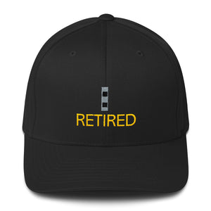 CW2 Retired Fitted Cap