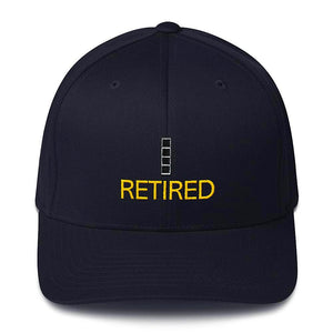 CW4 Retired Fitted cap
