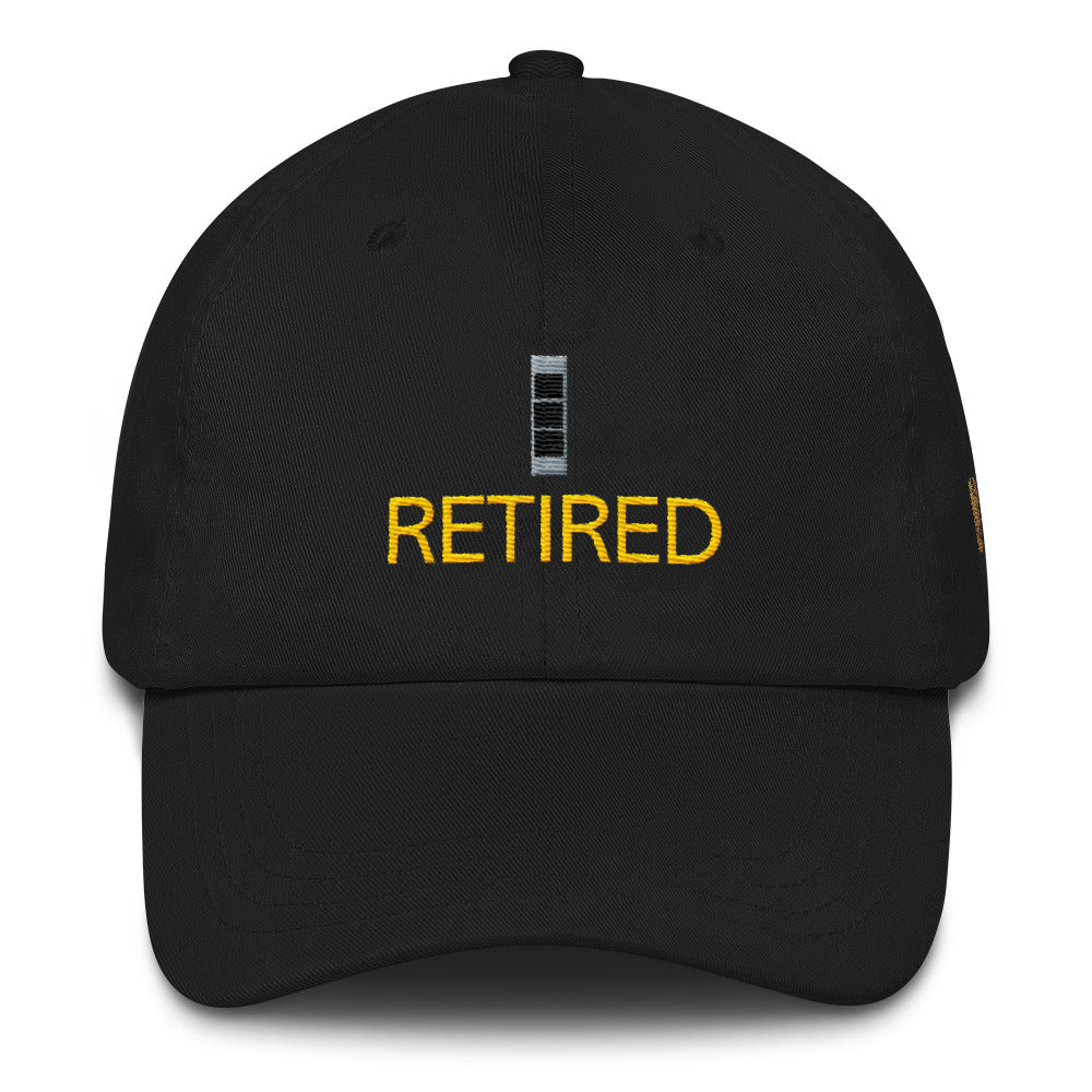 Retired CW3 Adjustable Ball Cap