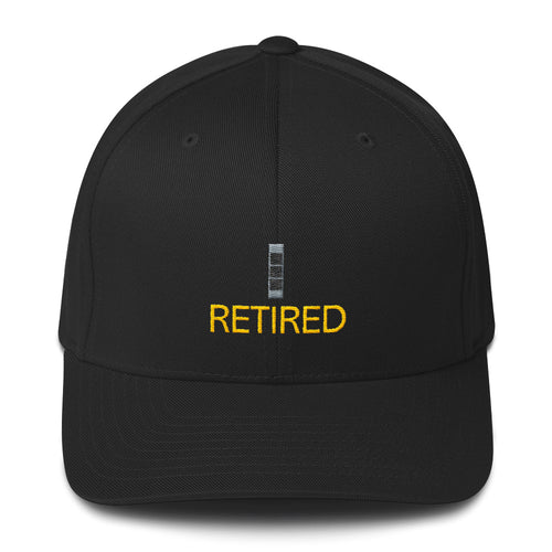 CW3 Retired Fitted Cap