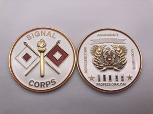 "Limited Edition Regimental WO Coin ""SIG"""