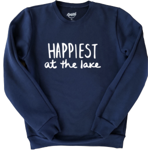 Happiest Lake Crew Sweater ADULT