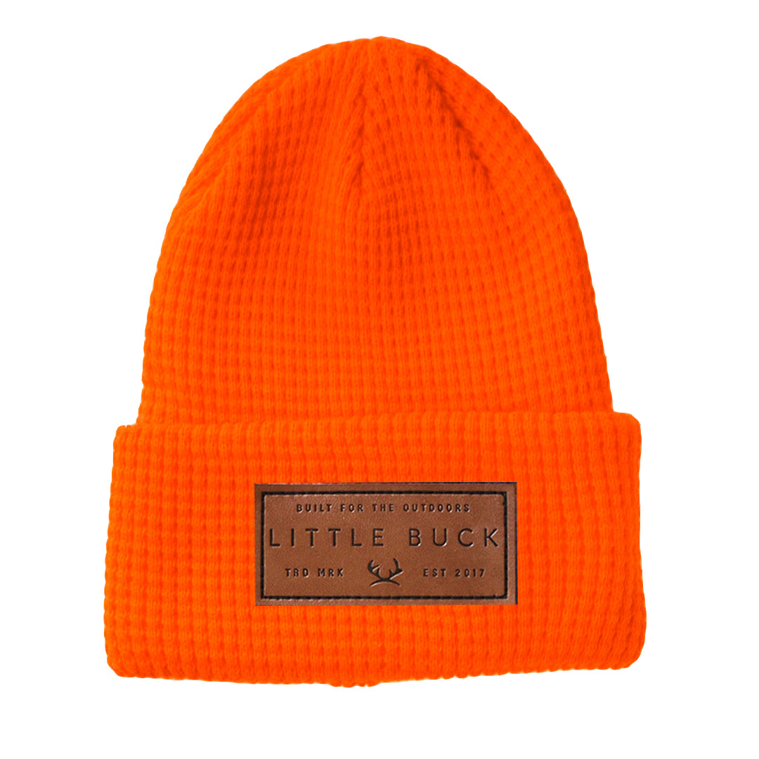 Waffle Cabin Beanie - Highlighter Series