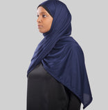 Free Wrap Sports Hijab - Blue
