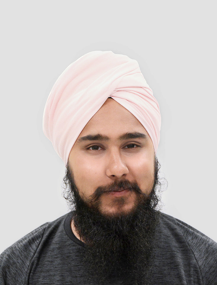 Sports Turban - Light Pink