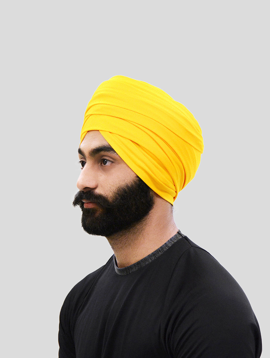 Sports Turban - Yellow