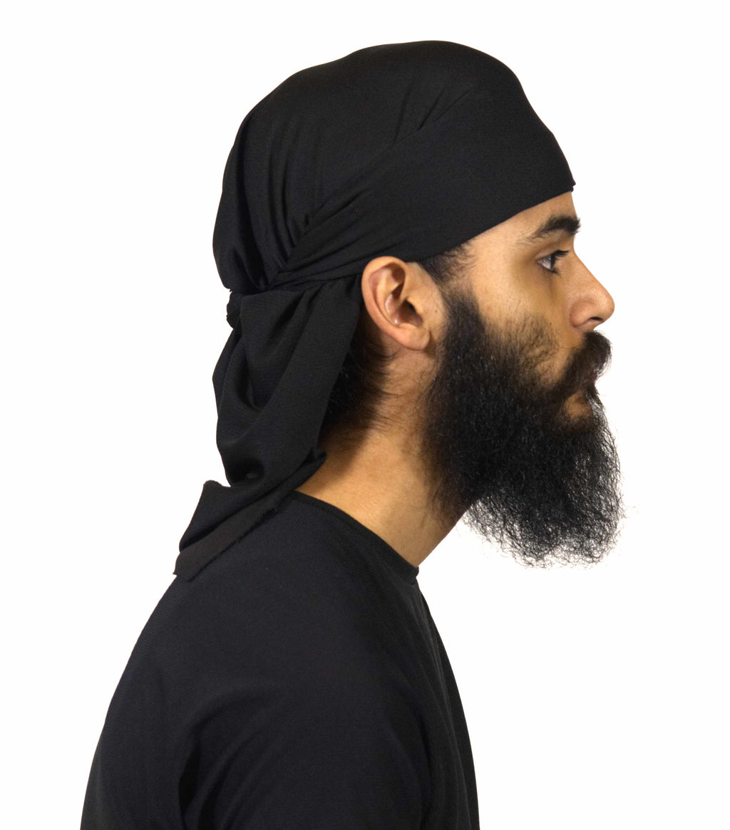 Customized Sports Patka - Black