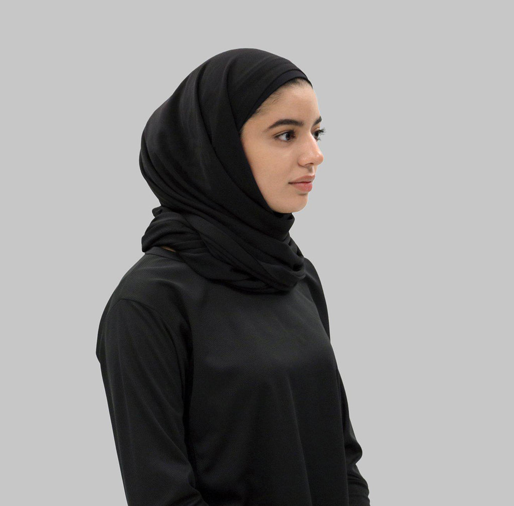 Your Revolution Sports Hijab - Black