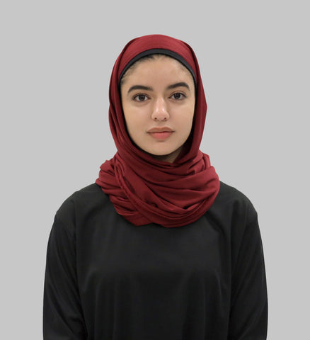Your Revolution Sports Hijab - Maroon