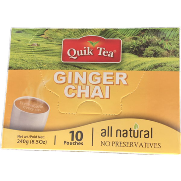 Quik Tea Ginger Chai  8.5oz