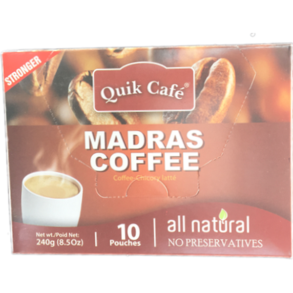 Quik Cafe Madras Coffee 8.5oz