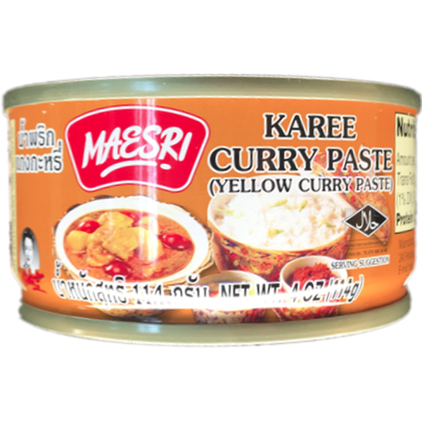 Maesri Yellow Curry Paste 4oz