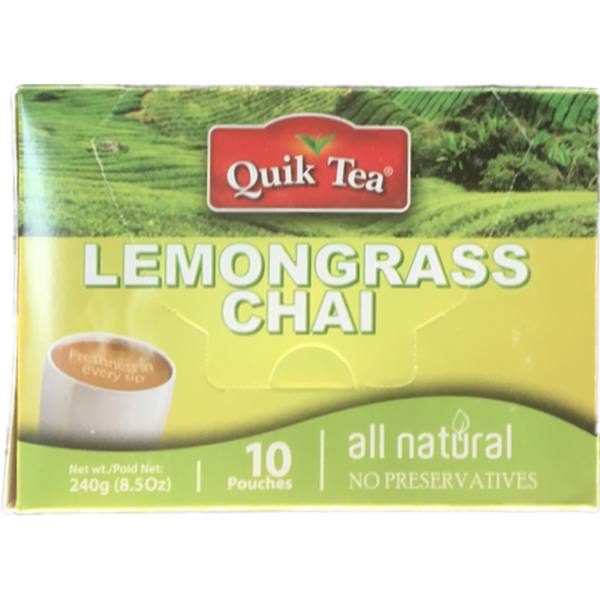 Quik Tea Lemongrass Chai 8.5oz